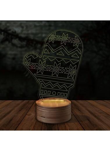 Artikel Eldiven 3D LED Gece Lambası Renkli